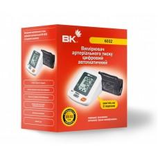 Вимірювач артеріального тиску цифровий автоматичний ВК 6032 (стандартна манжета)