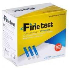 Тест-смужки Файнтест (Fine Test), 50шт