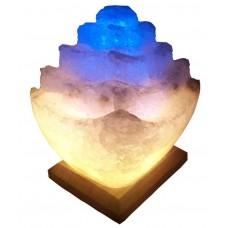"""Сольова лампа """"Пагода"""" 5-6кг кольорова"""