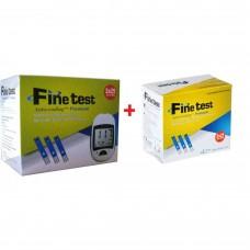 Акційний набір, глюкометр Файнтест (Fine Test) + 50 тест-смужок