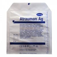 ATRAUMAN Ag, атравматична,з антибактеріальними властивостями, стерильна. Розмір: 10*10 см.