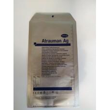 ATRAUMAN Ag, атравматична,з антибактеріальними властивостями, стерильна. Розмір: 10*20 см.